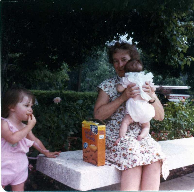 Kristen, Grammie MacDonald and Sarah Stickney at the Washington D.C. temple grounds