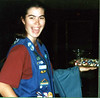 Kristen Stickney at a Girl Scout event