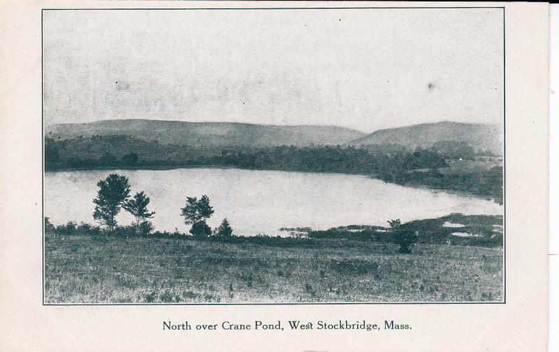 West Stockbridge North over Crane Pond