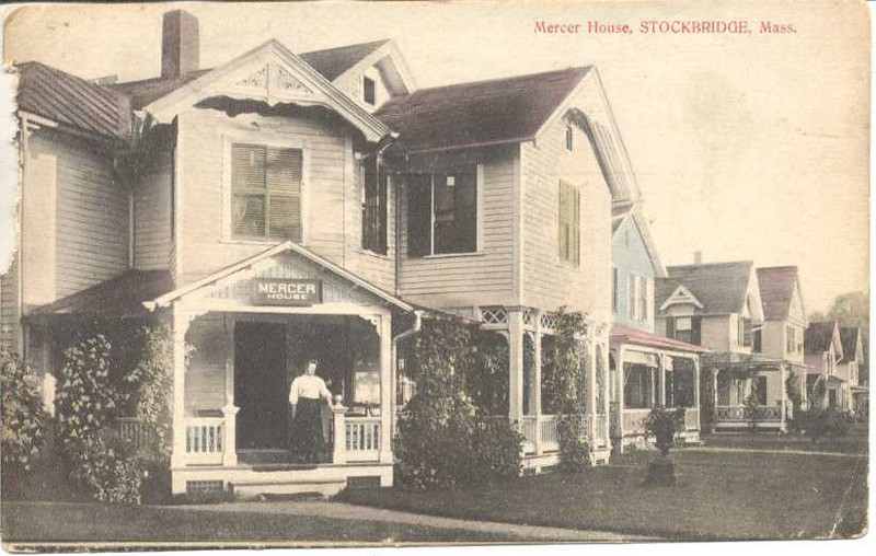 Stockbridge Mercer House 1909