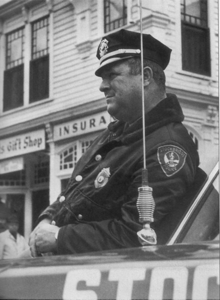 Stockbridge Officer Obie