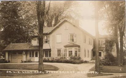 Stockbridge Dr L K Lunt Residence