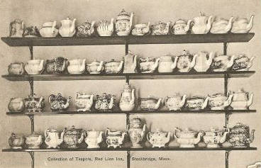 Stockbridge Tea Pot Collection Red Lion Inn