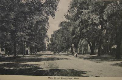 Stockbridge Main St 1910