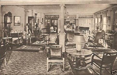Stockbridge Red Lion Inn Interior