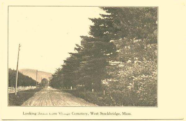 West Stockbridge View from Cemetary