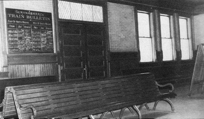 Stockbridge RR Station Interior