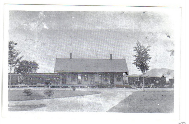 Stockbridge RR Station RPPC