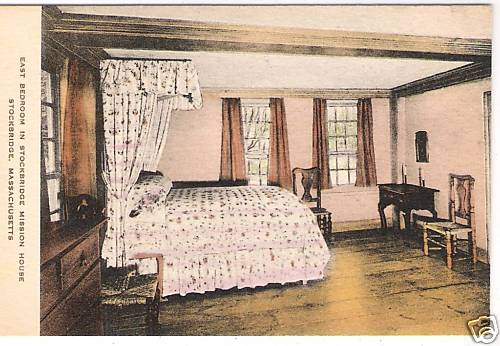 Stockbridge Mission House East Bedroom