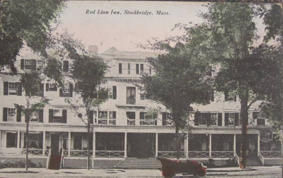 Stockbridge Red Lion Inn 1