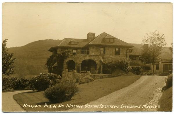 Stockbridge Estate Wm Thompson M D