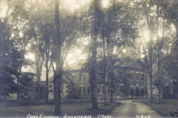 Stockbridge Congregational Church RPPC