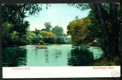 Stockbridge Hoosatonic River 1915