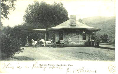 Stockbridge RR Station 2