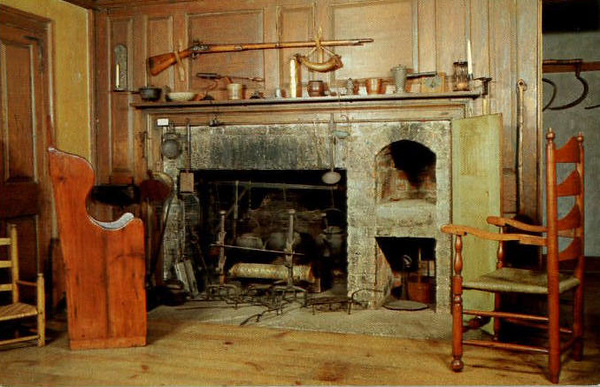 Stockbridge Mission House Kitchen