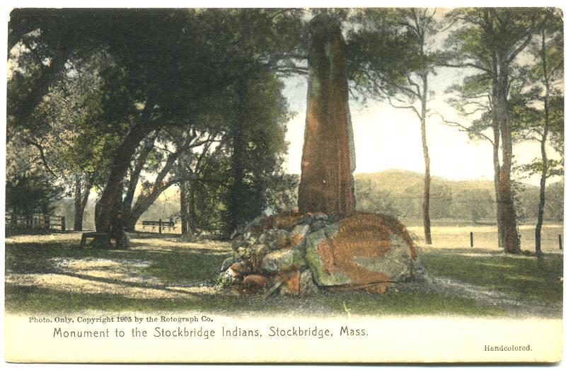 Stockbridge Indian Monument