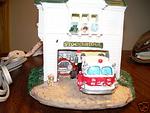 Stockbridge Illiuminated Toy Fire Station
