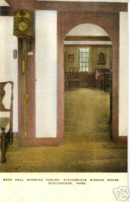 Stockbridge Mission House Parlor