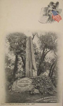 Stockbridge Indian Monument c1910