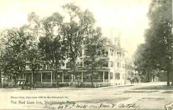 Stockbridge Red Lion Inn 1905