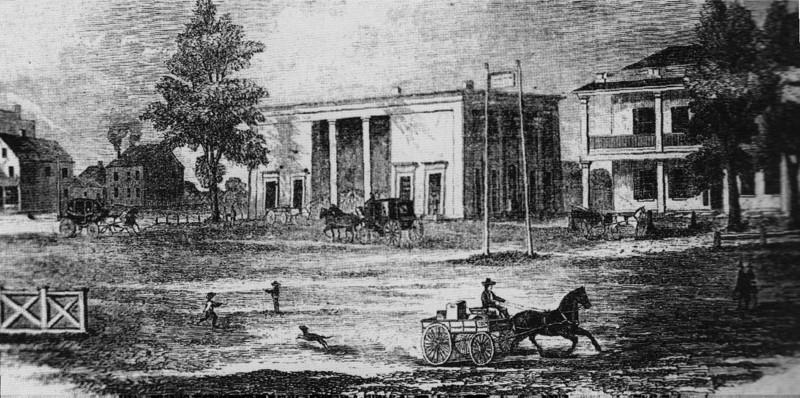 Stockbridge 1st Train Depot