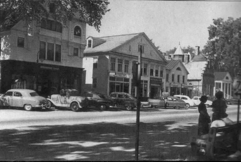 Stockbridge Main St c1950s