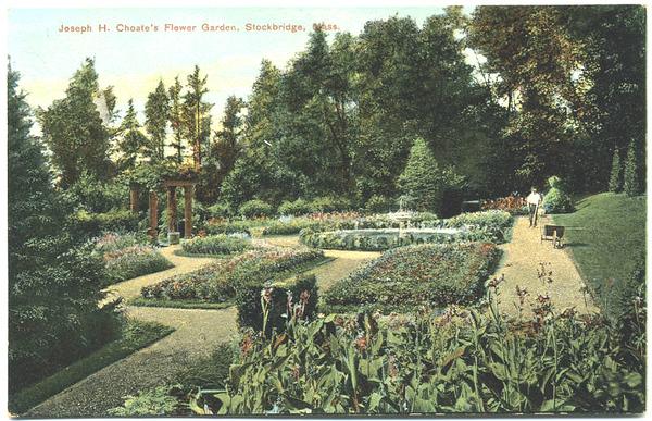 Stockbridge Naumkeag Flower Gardens