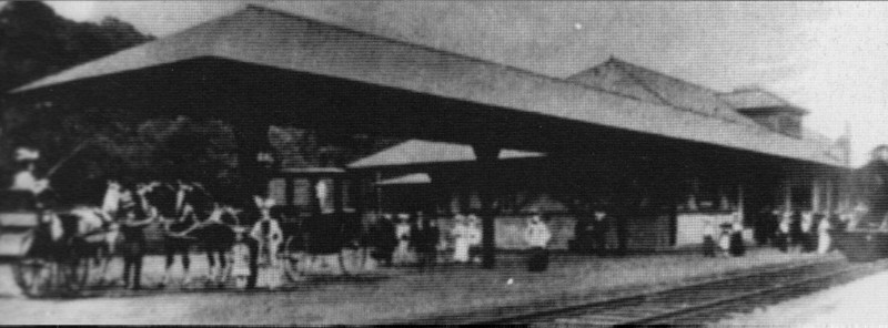 Stockbridge RR Station