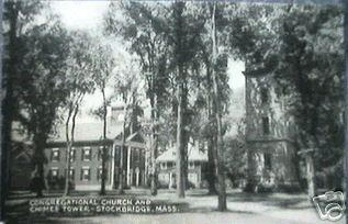 Stockbridge Cong  Church Chime Tower