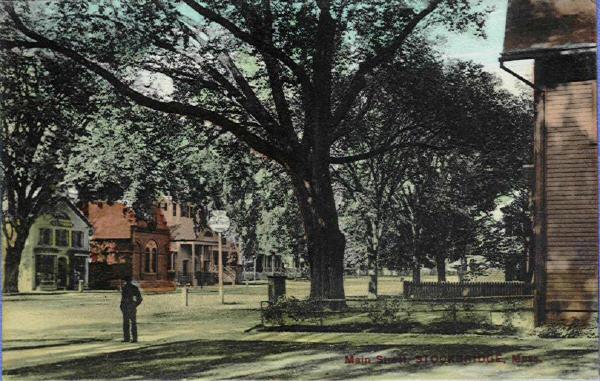 Stockbridge Main Street Scene 2