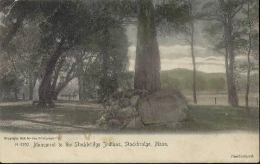 Stockbridge Monument to Indians