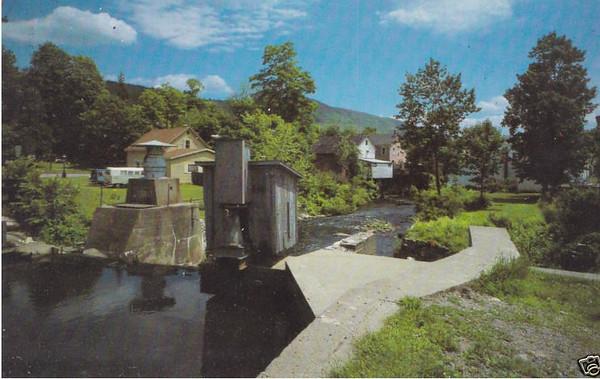 Stockbridge Hydroelectric Plant 1926