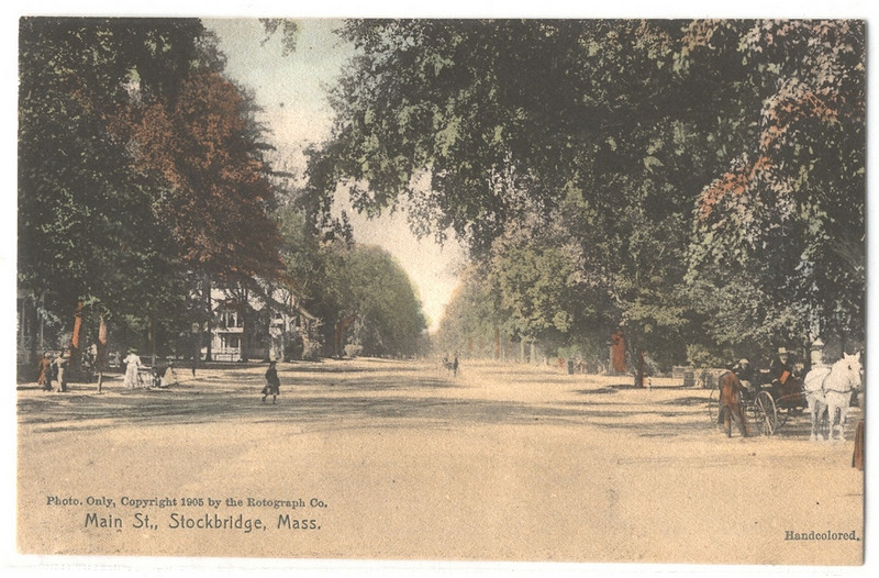 Stockbridge Main St 1905