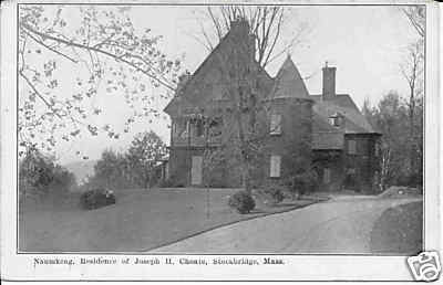 Stockbridge J H Choate Residence