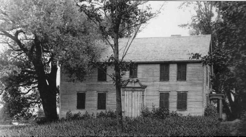 Stockbridge Mission House 1739
