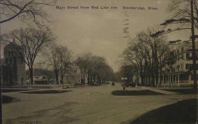 Stockbridge Main St from Red Lion