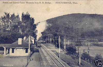 Stockbridge RR Station & Laura's Mt