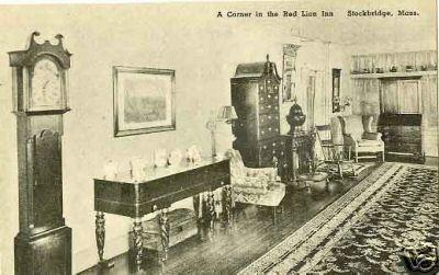 Stockbridge Interior Red Lion Inn