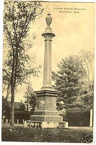 Stockbridge Johnathan Edwards Monument