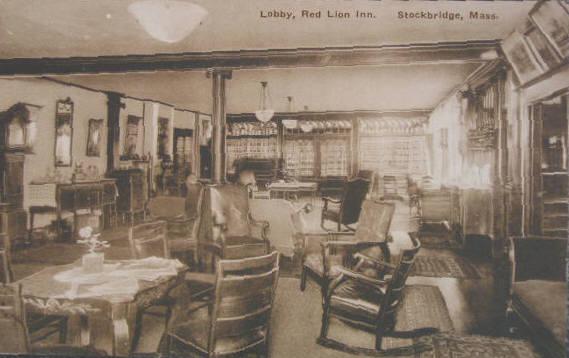 Stockbridge Lobby Red Lion Inn
