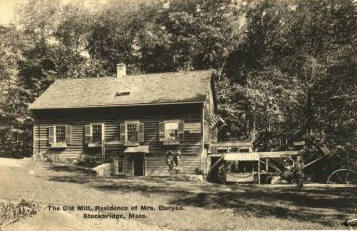 Stockbridge The Old Mill 1907