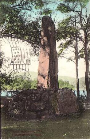 Stockbridge Indian Monument 1