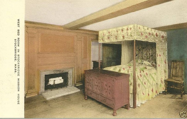 Stockbridge Mission House West Bedroom