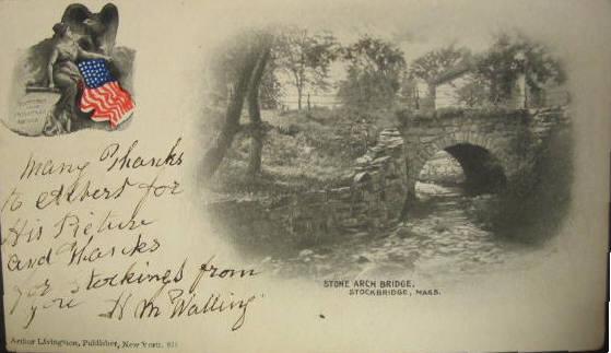Stockbridge Stone Arch Bridge