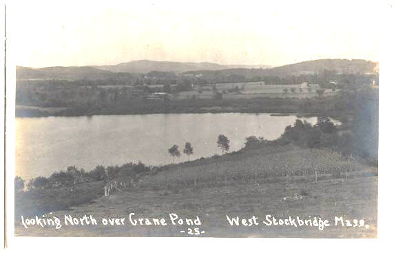 West Stockbridge RP N over Crane Pond