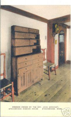 Stockbridge Mission House Furniture