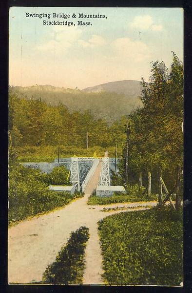 Stockbridge Swinging Bridge
