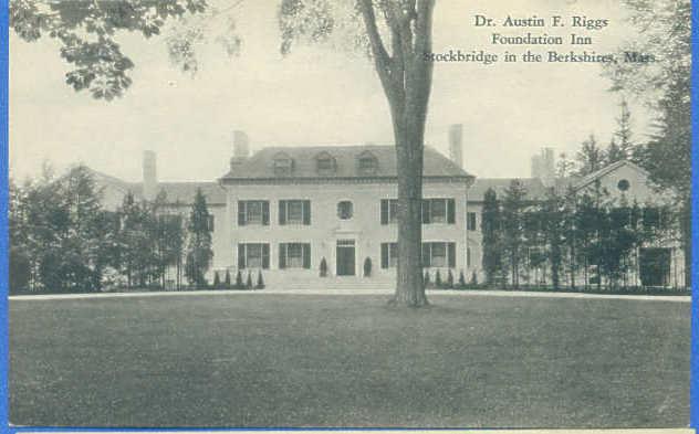 Stockbridge Dr Austin Riggs Foundation Inn