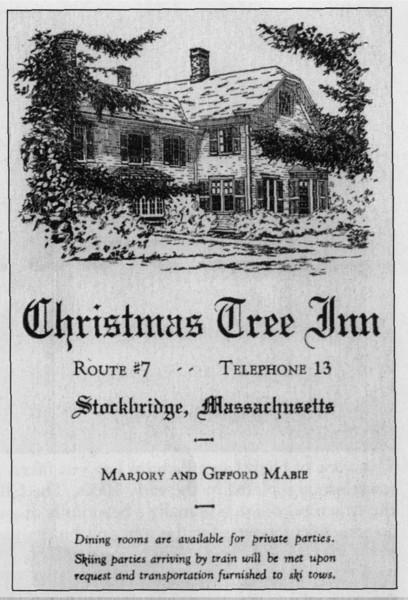 Stockbridge Christmas Tree Inn