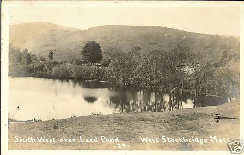 West Stockbridge South West over Card Pond